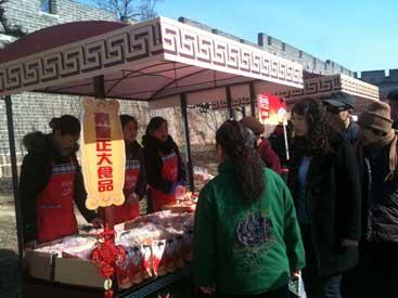 3月6日应山海关老龙头景区邀请,秦皇岛区积极配合组织人员